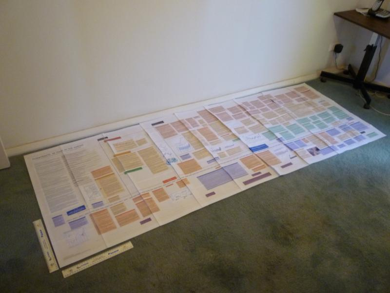 Image: Brent's full color print of the ClimateGate Timeline