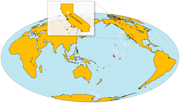 Scripps blockbuster Ocean acidification happens all the time – Show Mexico on World Map