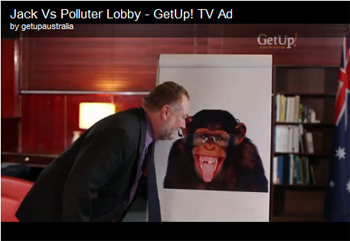 GetUp advertising