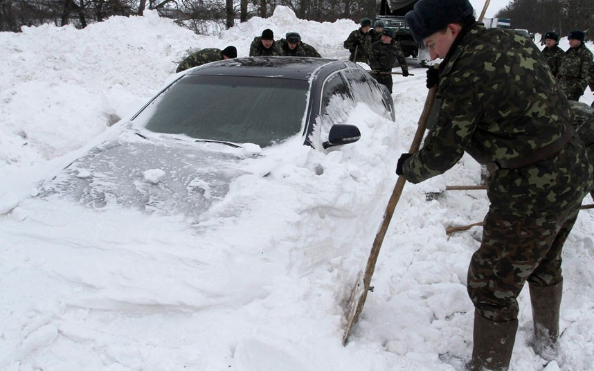 Sex winter russia cold
