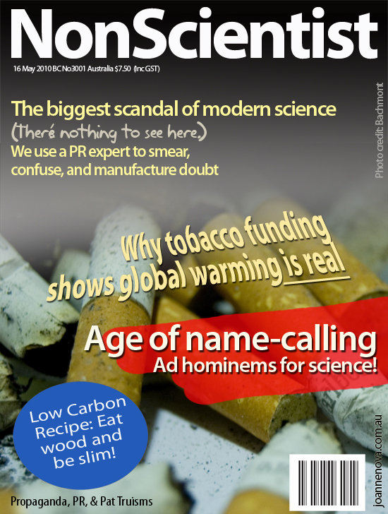New Scientist Satirical Cover: Age of Deniers