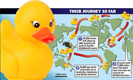Thousands Of Hundred Dollar Rubber Ducks To Wash Up On