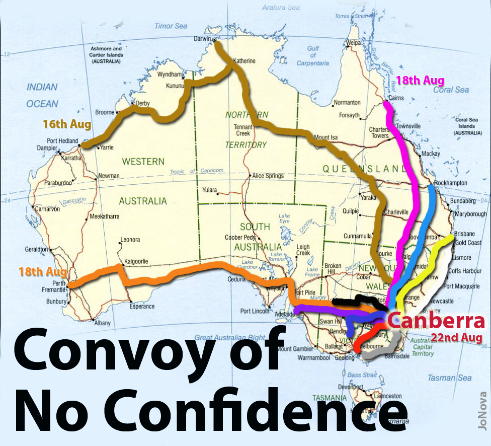 The Convoy Of No Confidence Is Amassing Towards Canberra Jonova Mad Max Engine Diagram