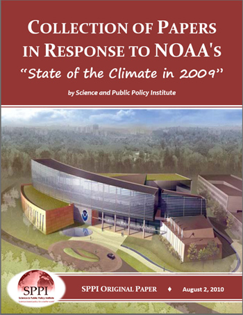 NOAA State of the Climate reply by SPPI