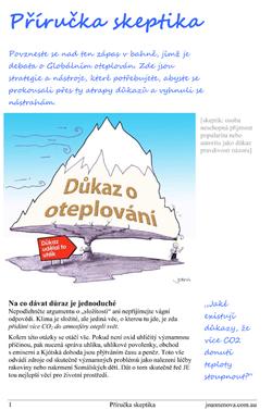 Skeptics Handbook in Czech