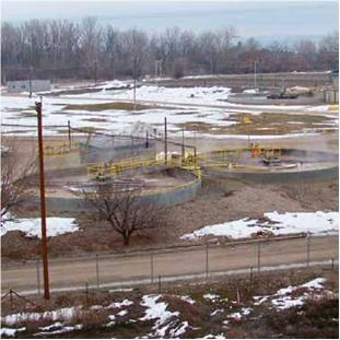Waste-water treatment plant - surface station