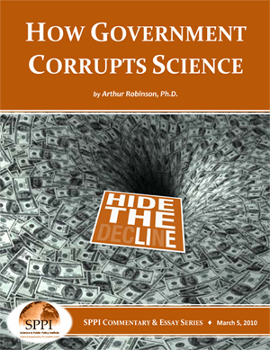 How Government Corrupts Science